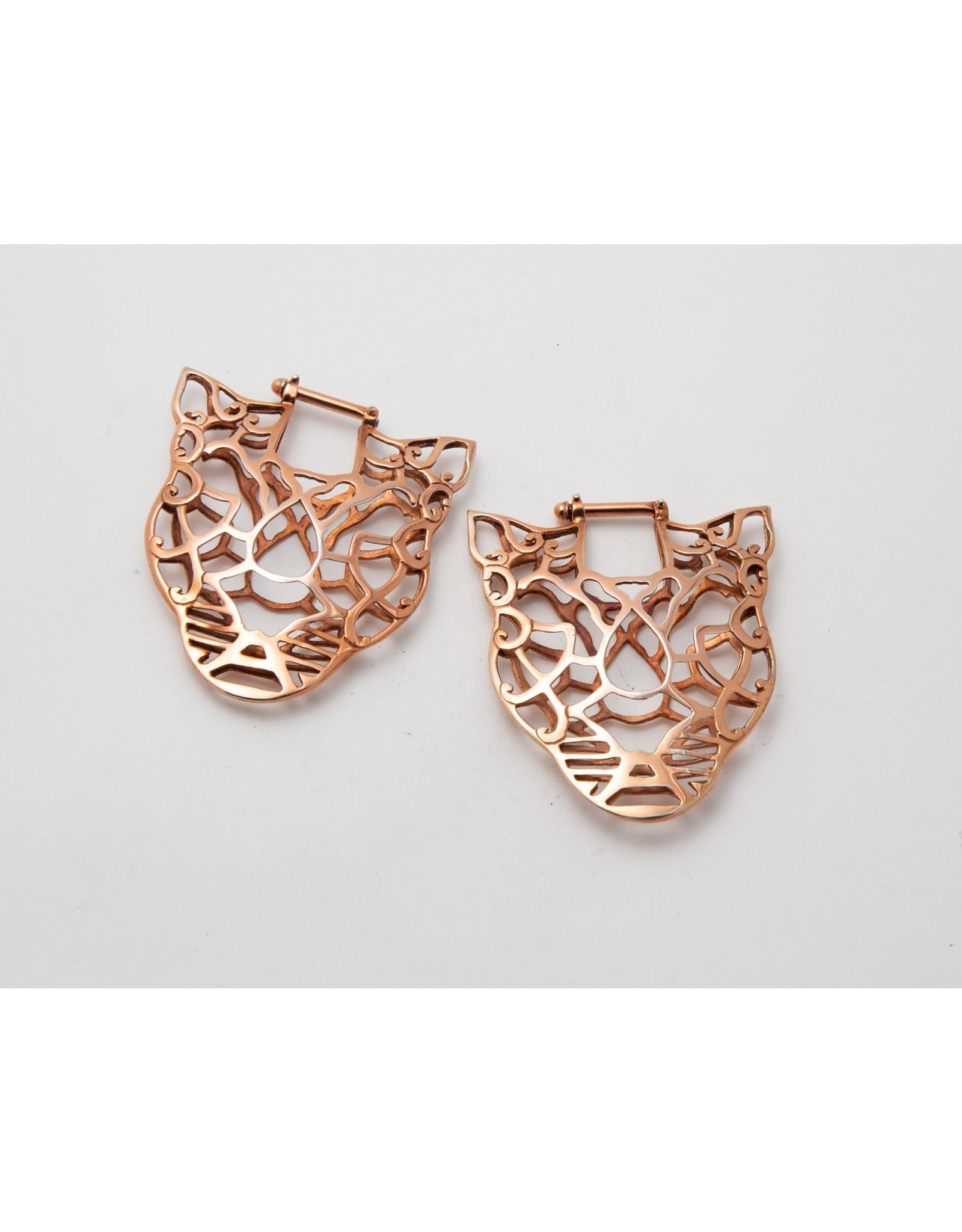 Maya Jewelry Maya rose gold plate Panthro hanging design