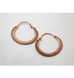 "Maya Jewelry Maya Rose Gold Plate ""Afghan"""