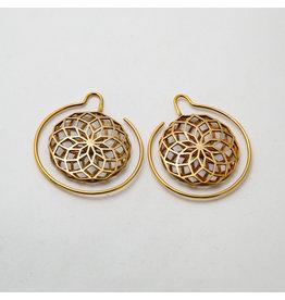 """Maya Jewelry Maya Yellow Gold Plate """"Daydreamer"""""""