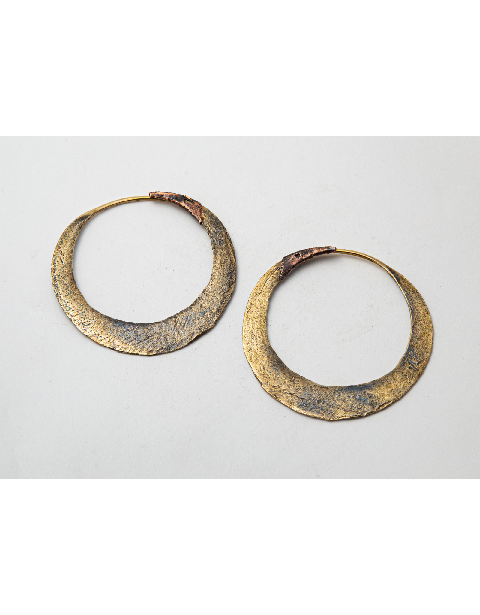 """Maya Jewelry Maya brass """"Junk Punk"""" hanging design"""