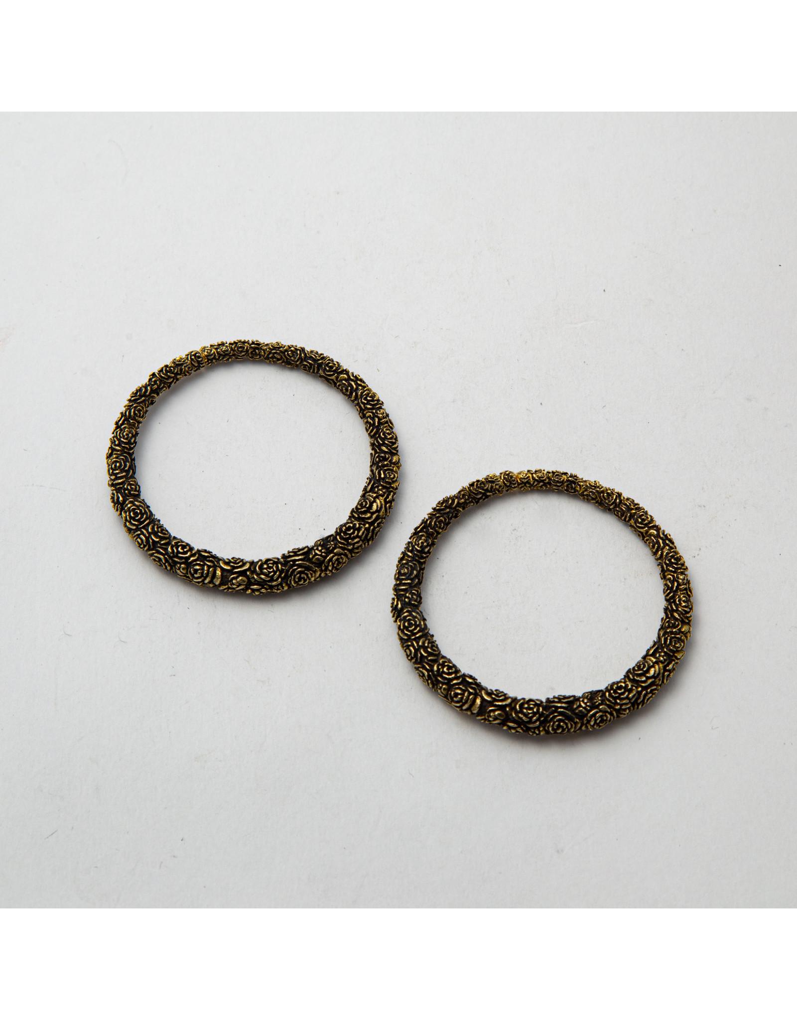 """Maya Jewelry Maya brass """"Ring Around The Rosie"""" hanging design"""