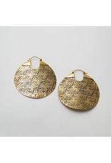 Maya Jewelry Maya brass Between the sheets hanging design