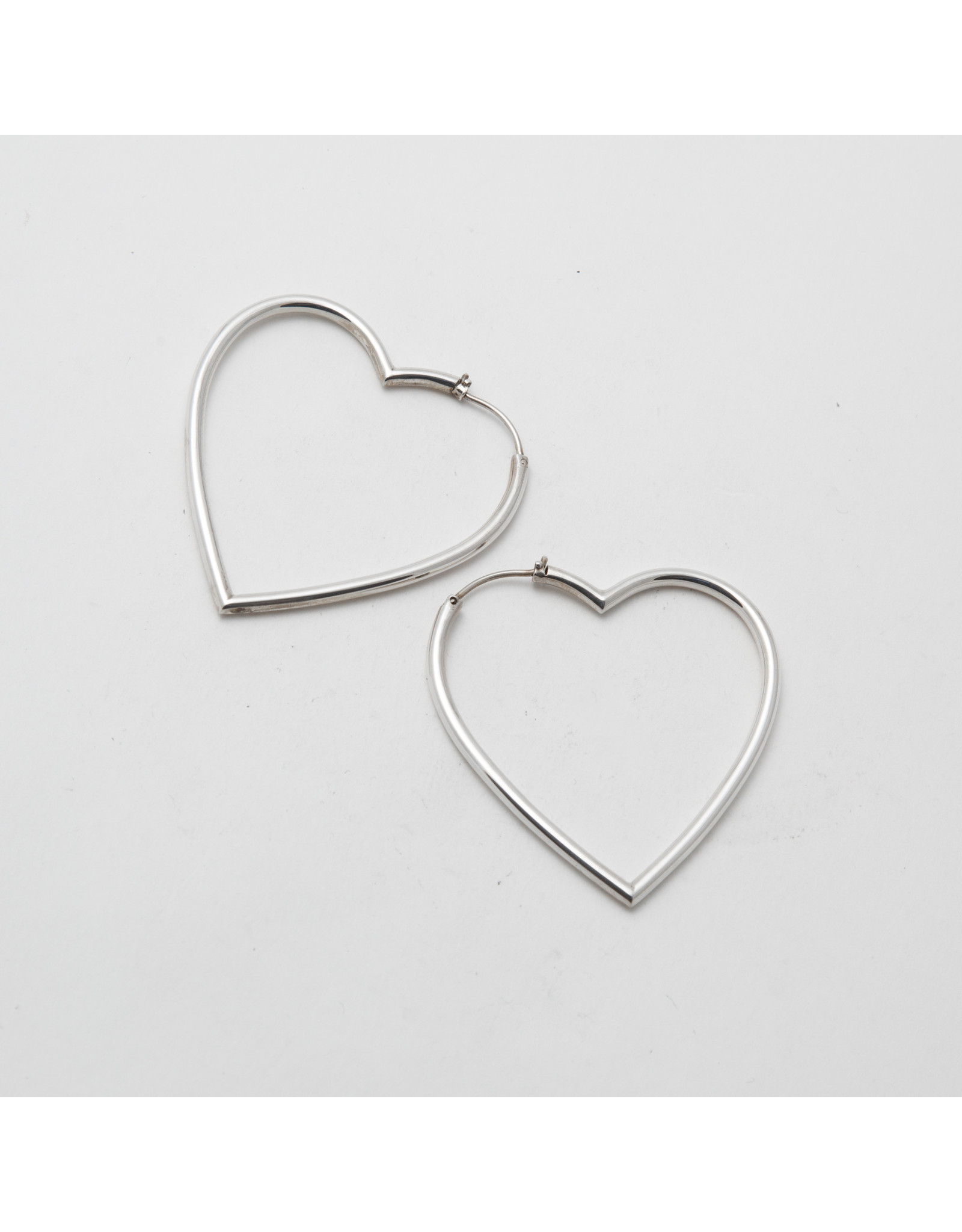 "Maya Jewelry Maya silver ""My Broken Heart"" traditional earring"