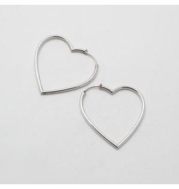"Maya Jewelry Maya Silver ""My Broken Heart"" Traditional Earring"