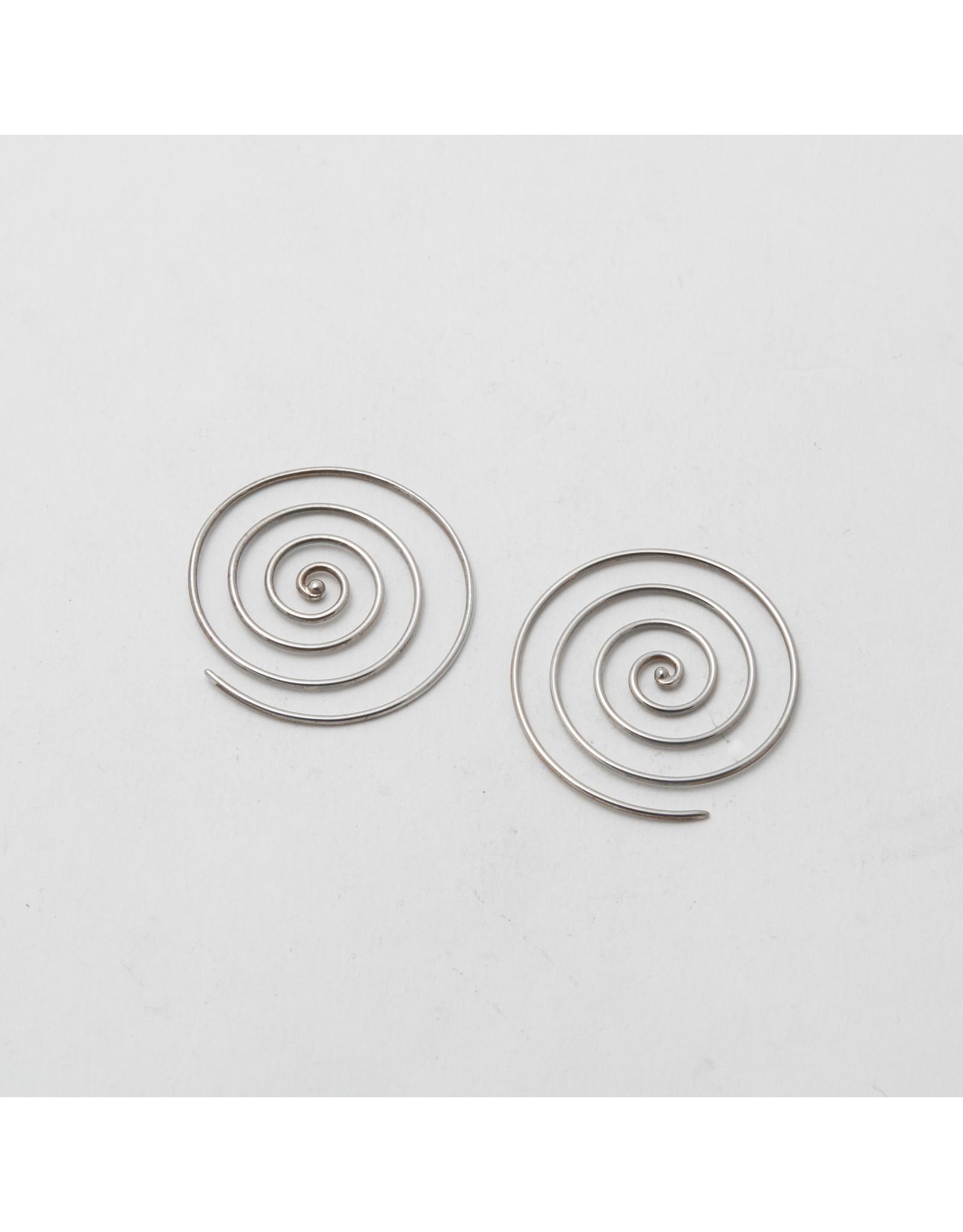 Maya Jewelry Maya silver mini spiral