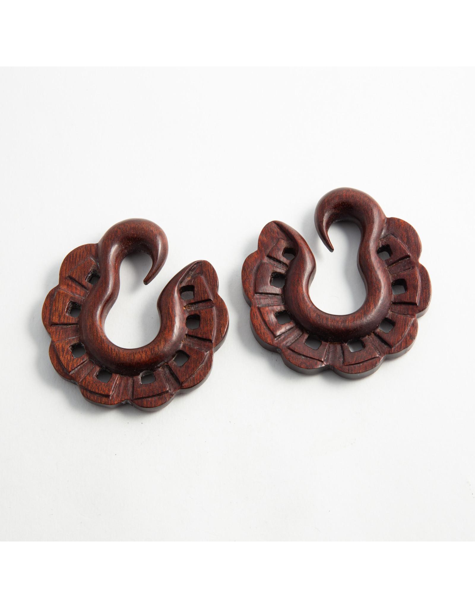 "Maya Jewelry Maya 1/2 bloodwood ""Anacruck"" hanging design"