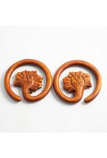 """Maya Jewelry Maya 00g tewel """"Lotus Ring hanging design"""