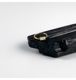 BVLA BVLA 18g Baguette seam ring. Various Stones