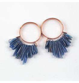 "Buddha Jewelry Organics BJO Rose Gold ""Aurora"" Hoops"