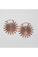 """Buddha Jewelry Organics Buddha Jewelry Organics rose gold plate small """"Galaxy"""" earrings"""