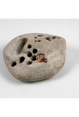 "Interstellar Jewelry Productions Interstellar Jewelry 16g 7/16 niobium ""Centauri"" daith seam ring with citrine bead"