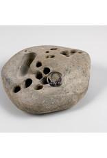 "Interstellar Jewelry Productions Interstellar Jewelry 16g 7/16 niobium ""Alnitak"" daith seam ring with sapphire bead"