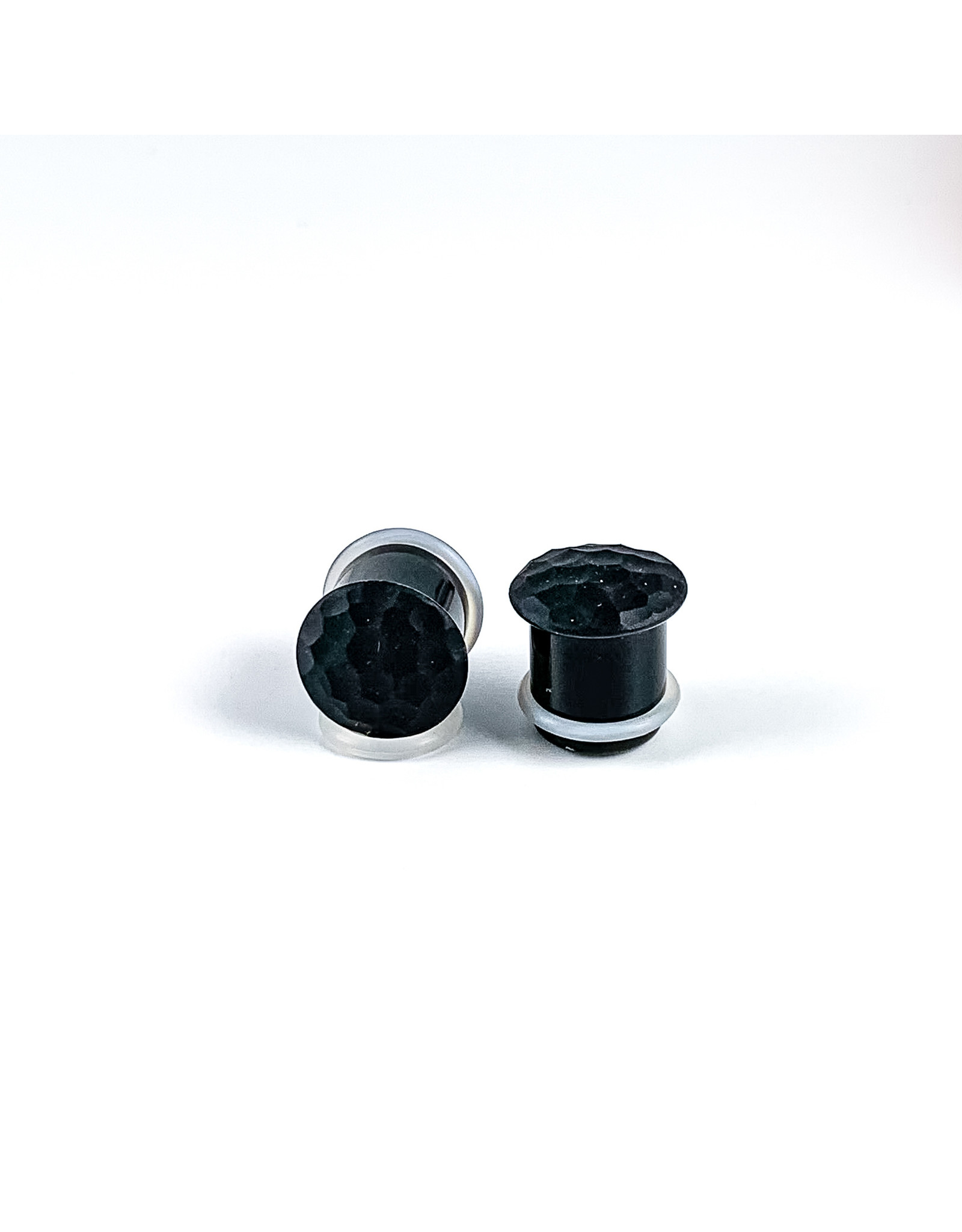 Gorilla Glass Gorilla Glass Martelle texture single flared plug