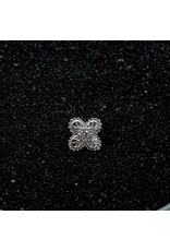 """Buddha Jewelry Organics Buddha Jewelry Organics """"Coco"""" press fit end with CZ"""