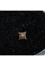 """Buddha Jewelry Organics Buddha Jewelry Organics gold """"Antoinette"""" press fit end with genuine pearl"""