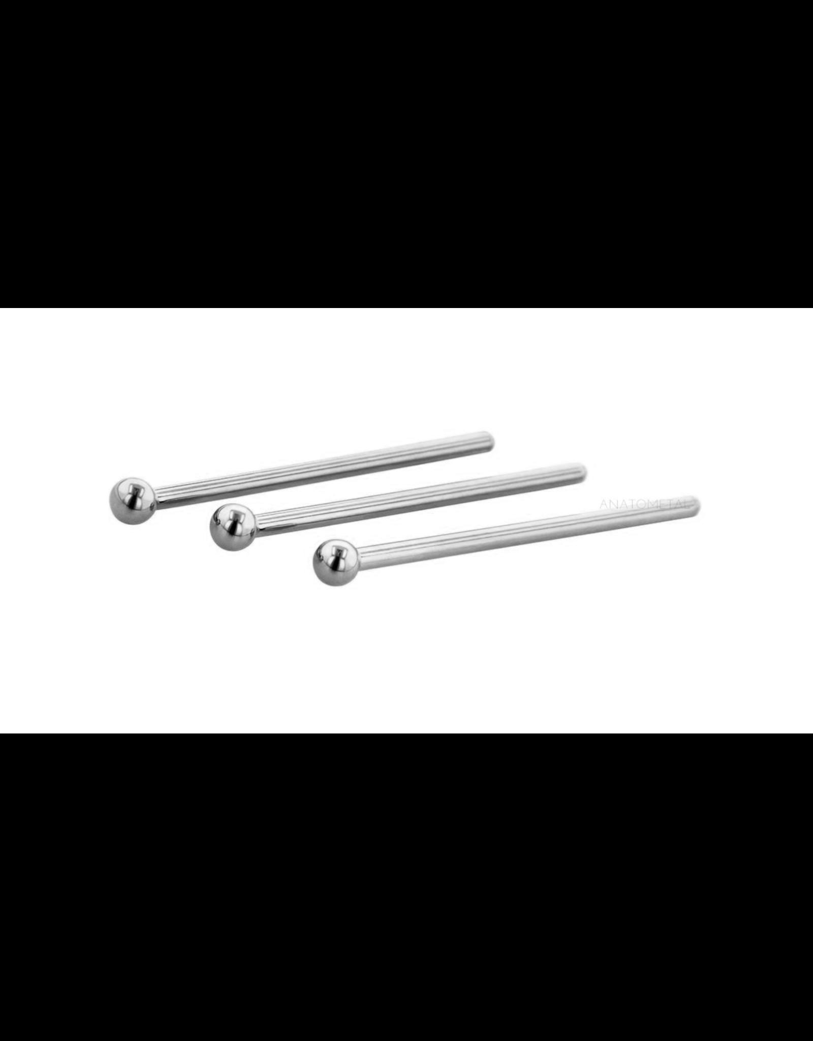 Anatometal 20g Steel Shape Nostril Screw