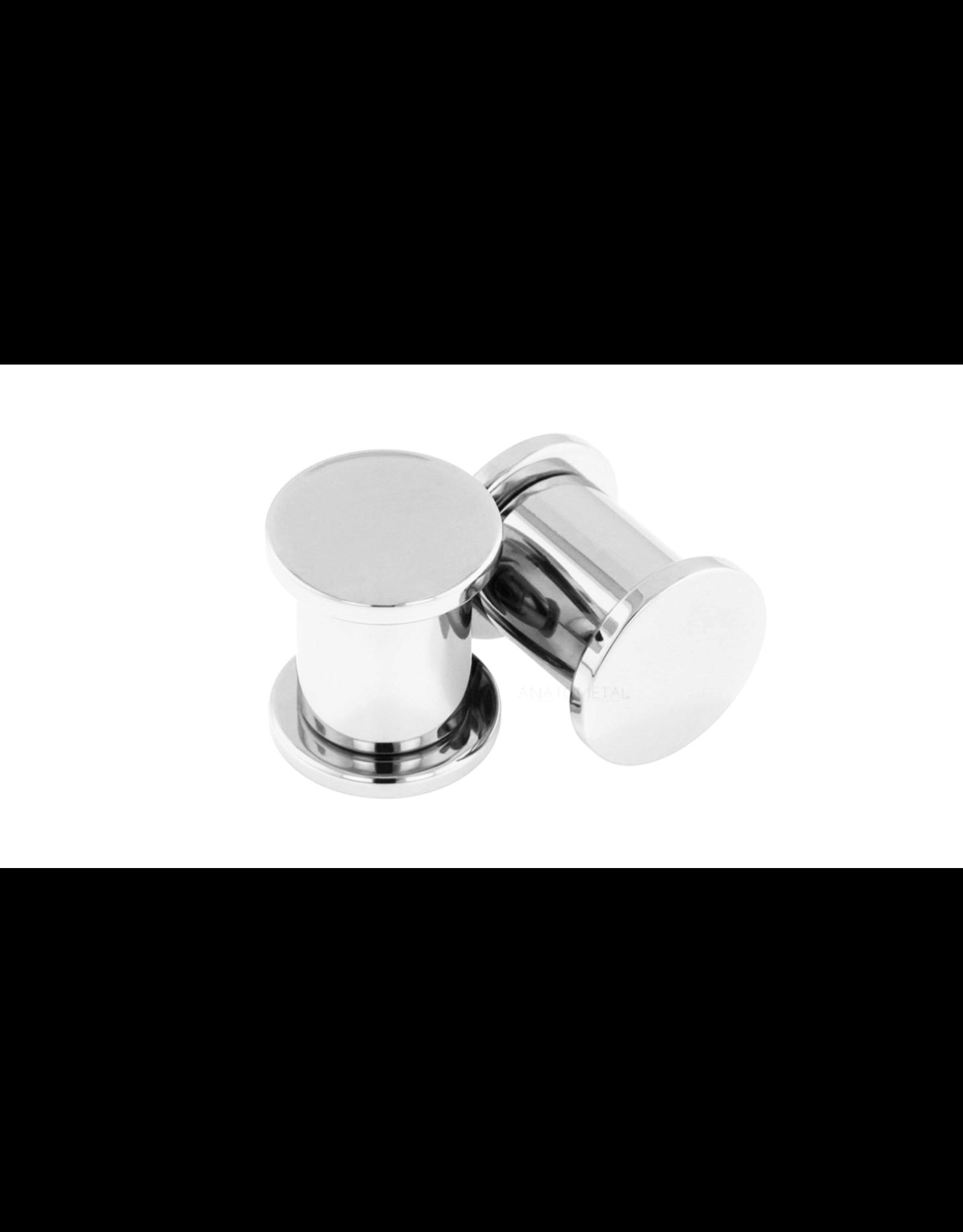 Anatometal titanium threaded plug