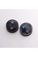 """Glasswear studios Glasswear Studios """"Space"""" double flared plugs"""