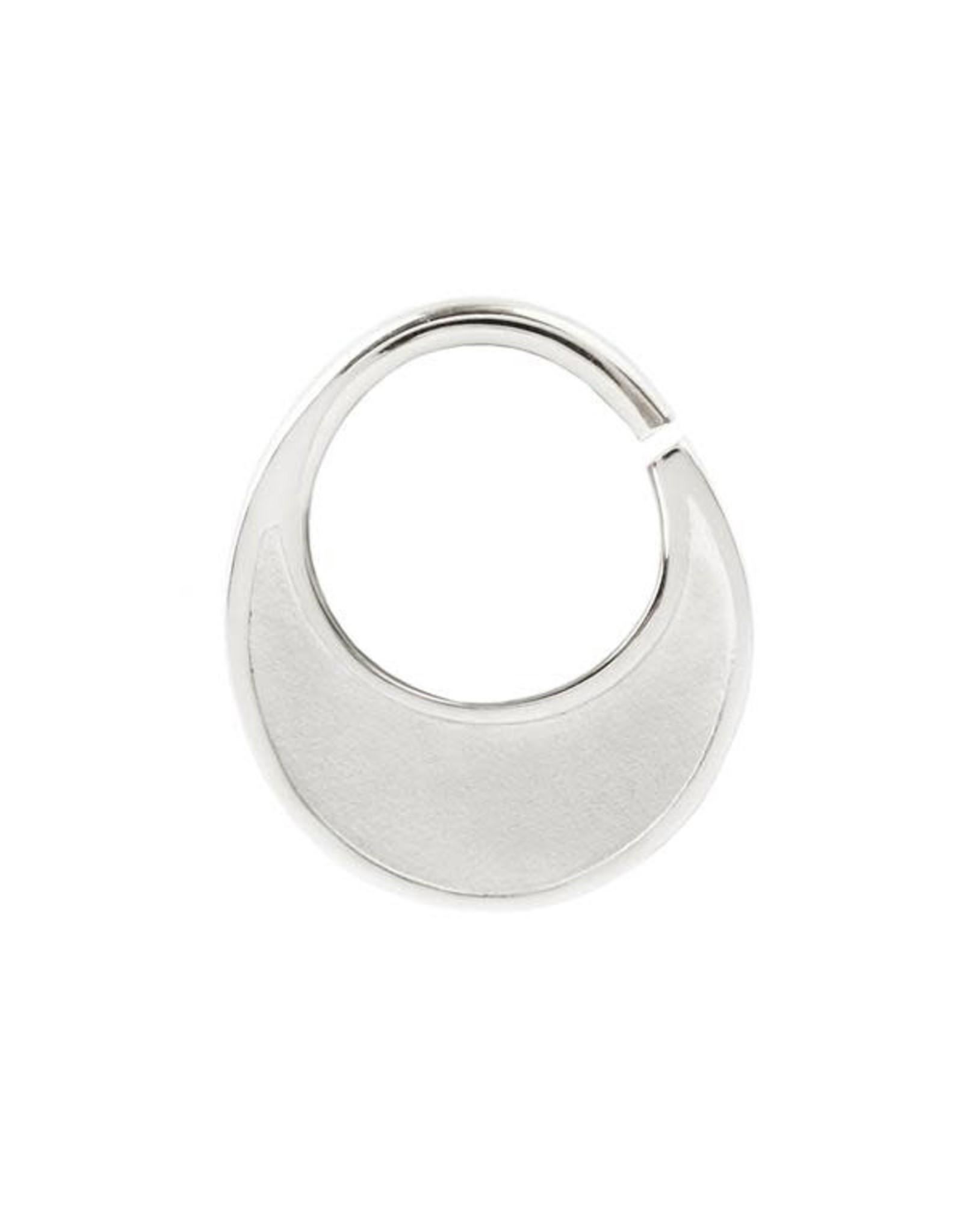 "Buddha Jewelry Organics 16g 5/16 Buddha Jewelry Organics ""Sandblasted Haute"" seam ring"