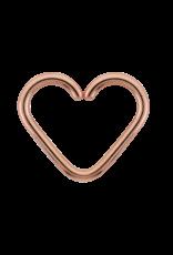 "LeRoi LeRoi 18g ""Pure"" heart seam ring"