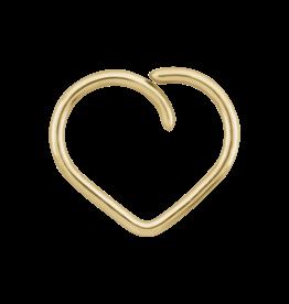 "LeRoi LeRoi ""Esoteric"" Heart Seam Ring"