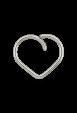 "LeRoi LeRoi 18g ""Esoteric"" Heart Seam Ring"
