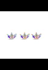 "Buddha Jewelry Organics Buddha Jewelry Organic ""Moet"" press fit end with mercury mist topaz"