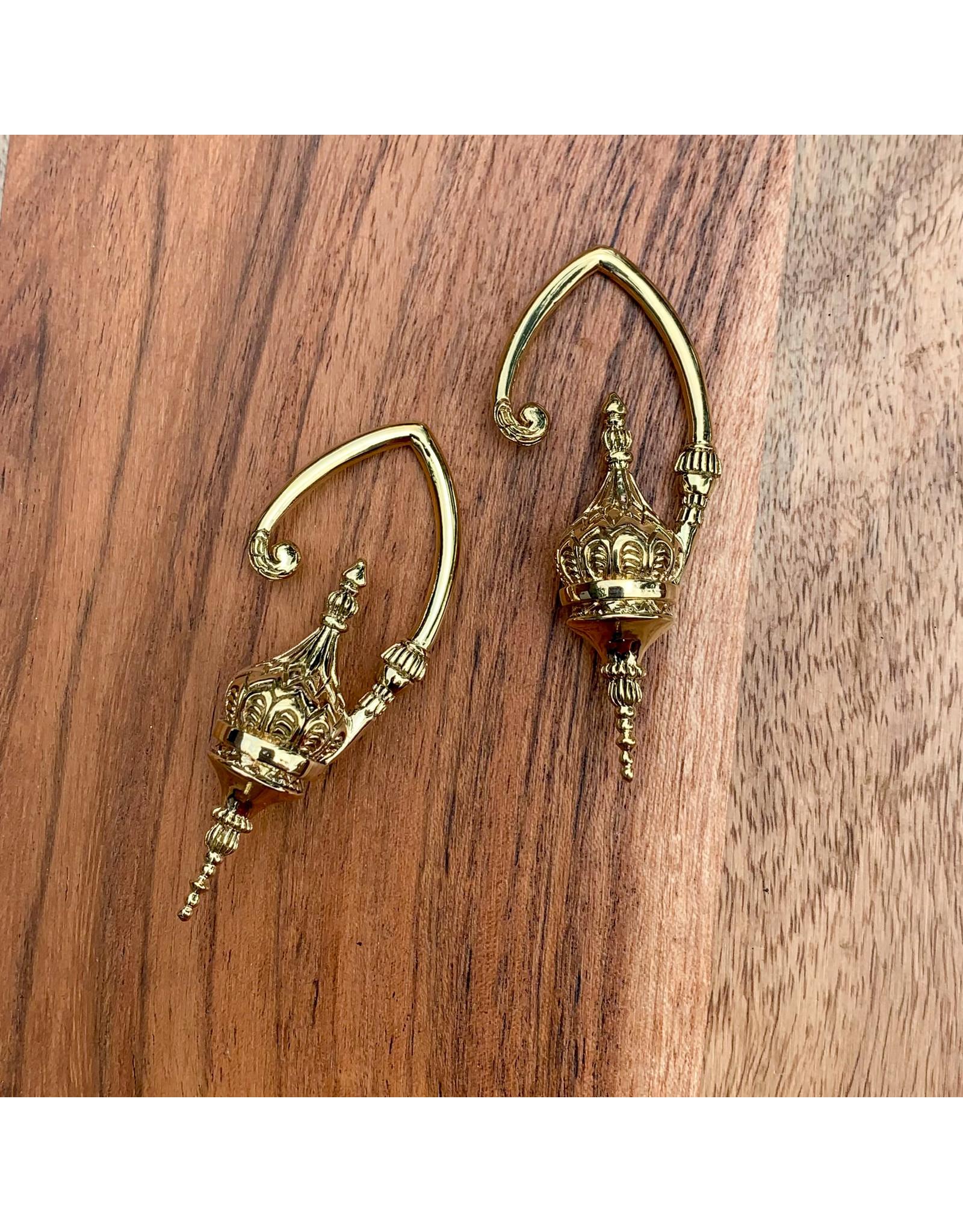 "Diablo Organics Diablo Organics small brass ""Aurora"" hanging design"