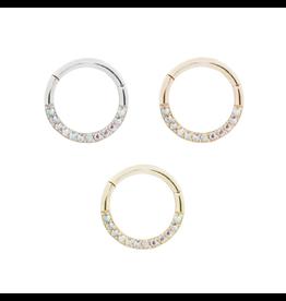 """Buddha Jewelry Organics BJO """"Dia"""" Clicker with Mercury Mist Topaz"""