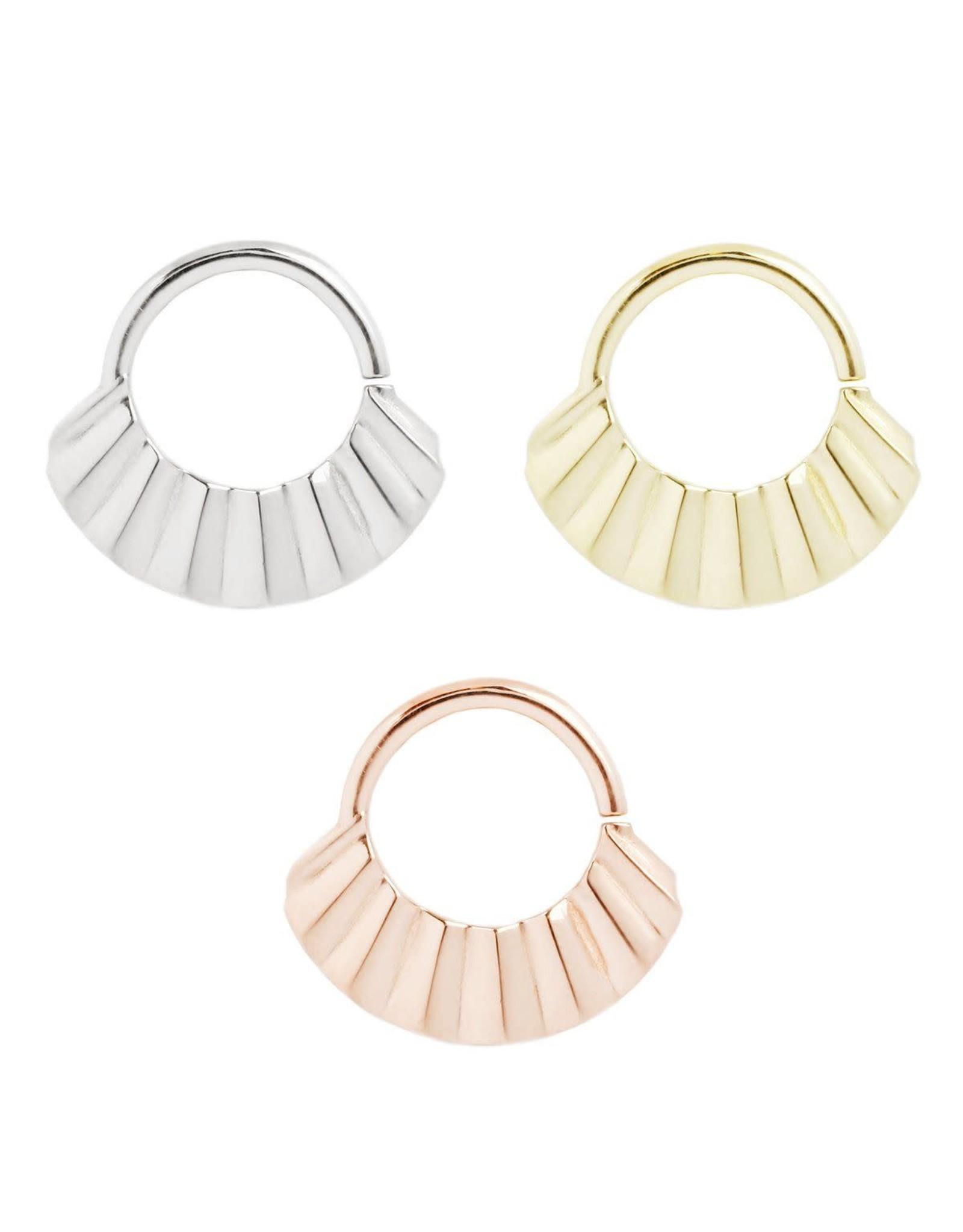 "Buddha Jewelry Organics Buddha Jewelry Organics 16g 5/16 ""Hype"" seam ring"