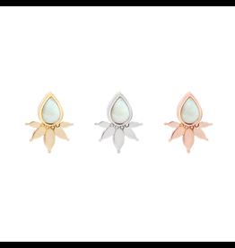 "Buddha Jewelry Organics BJO ""Lavish"" With White Opal"