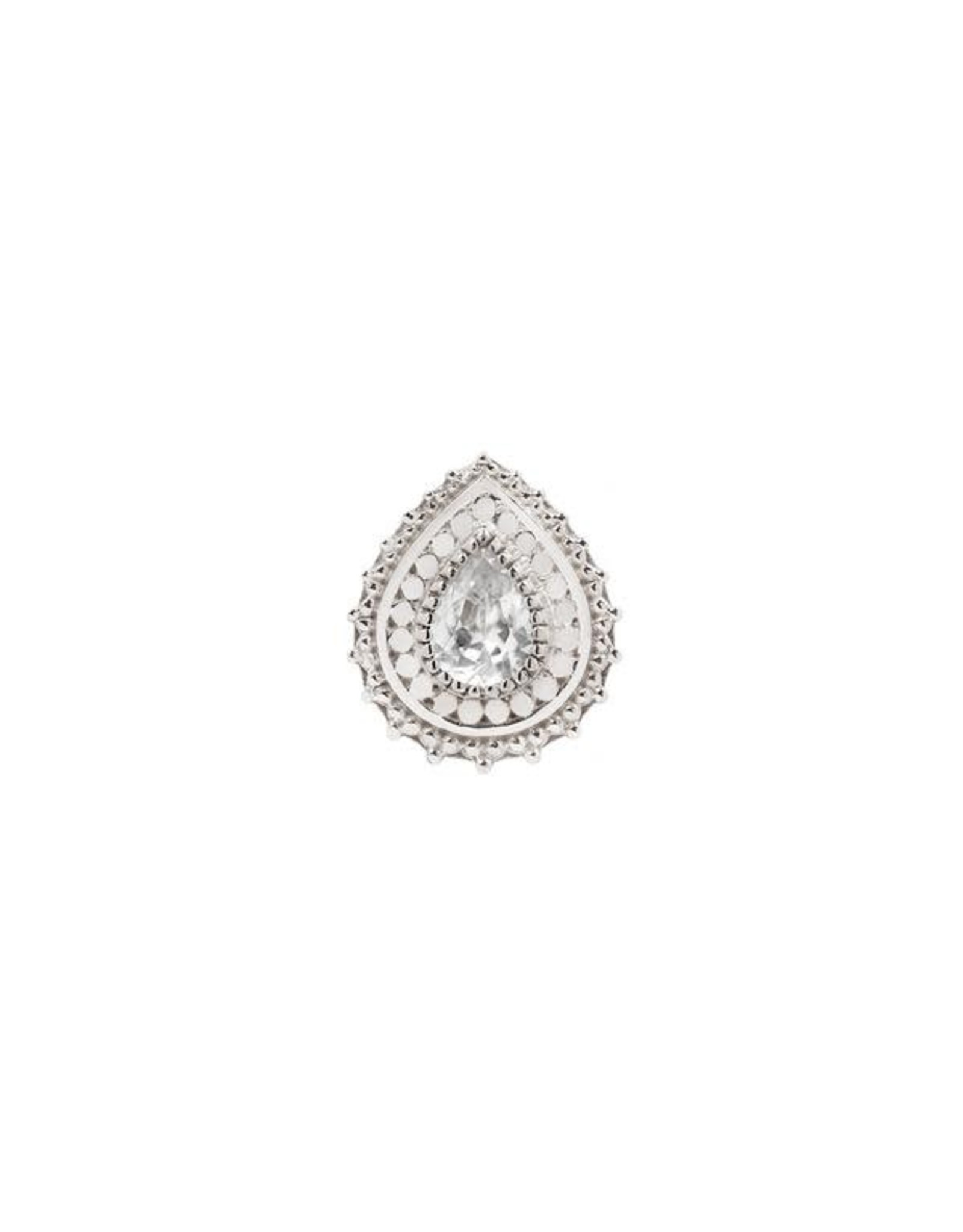 """Buddha Jewelry Organics Buddha Jewelry Organics """"Aja"""" press-fit end with CZ"""