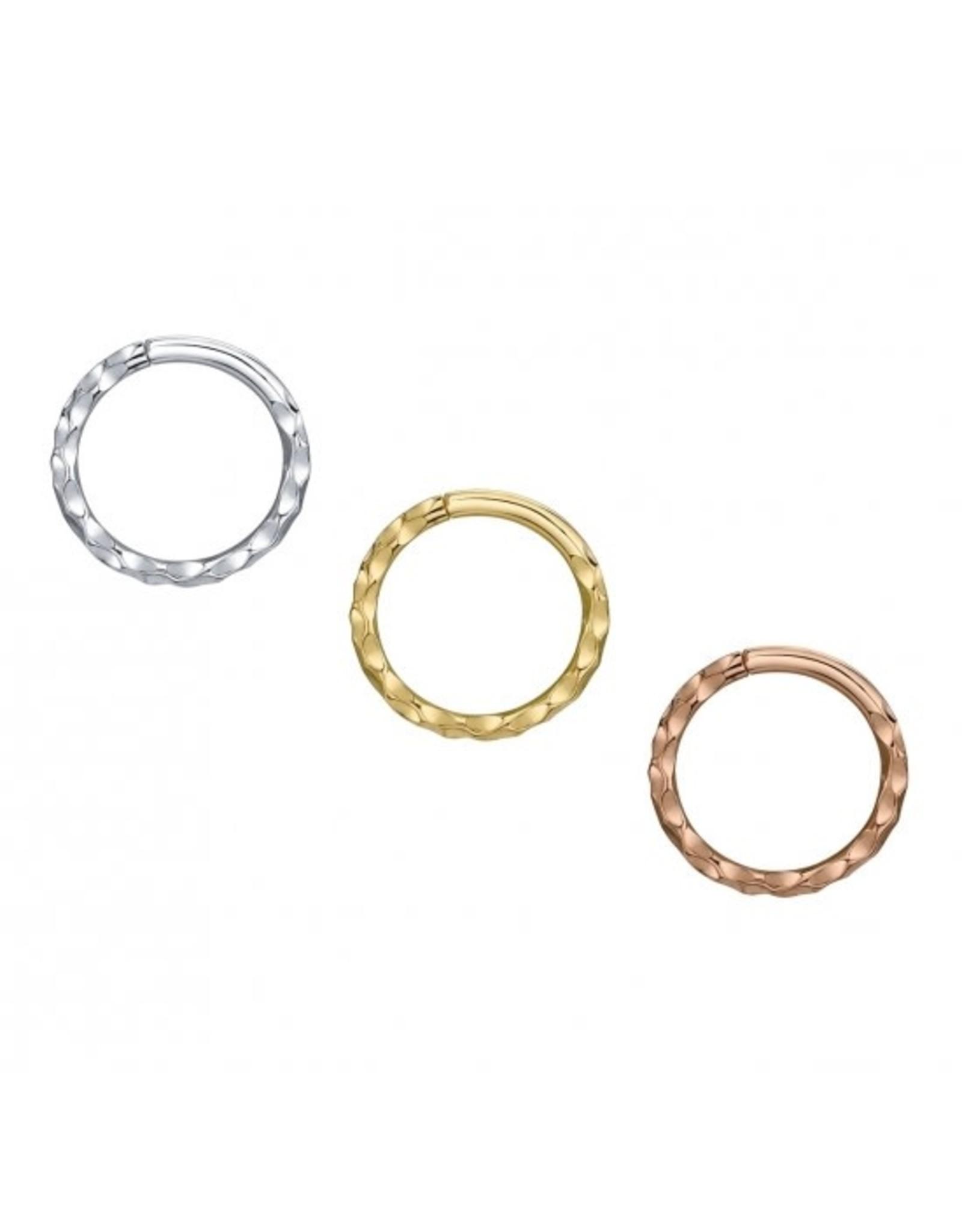 BVLA BVLA 16g Hammered Seam Ring