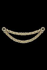 """LeRoi LeRoi """"Kolo II"""" double chain. 24.5mm length"""