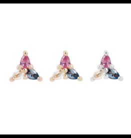 "Buddha Jewelry Organics BJO ""3 Little Pears - Trans Awareness"""