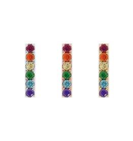 """Buddha Jewelry Organics BJO """"Rainbow Rowe"""""""