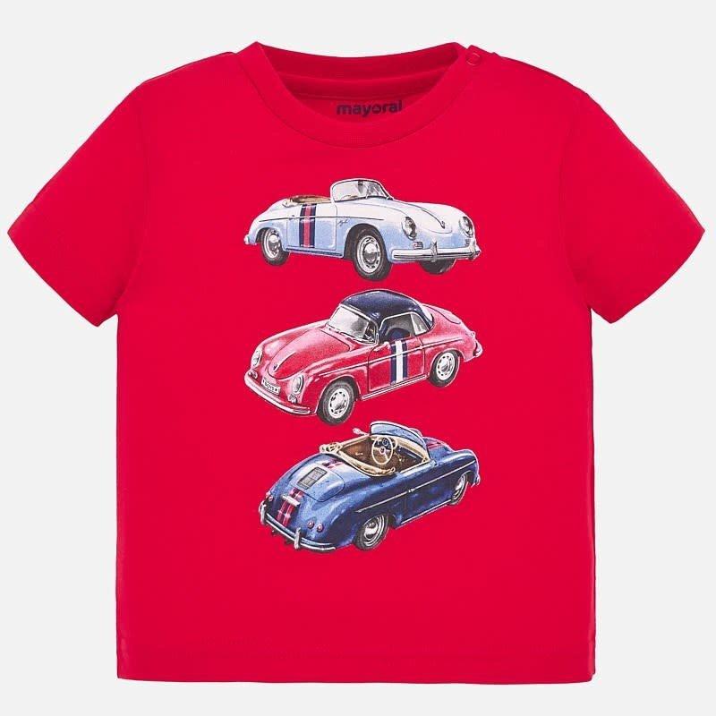 Mayoral Tshirt top line - hibiscus -