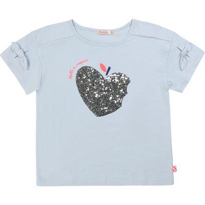Billie Blush Tshirt - blue sky -