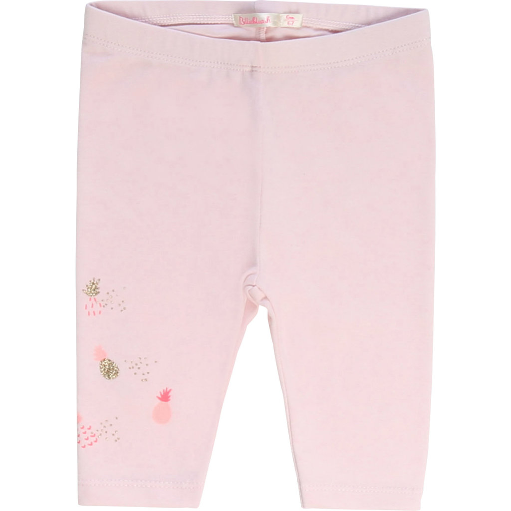 Billie Blush Legging - rose love -