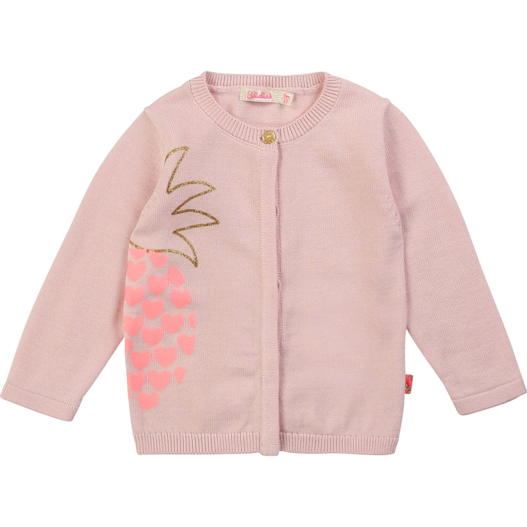 Billie Blush Cardigan tricot - rose love -