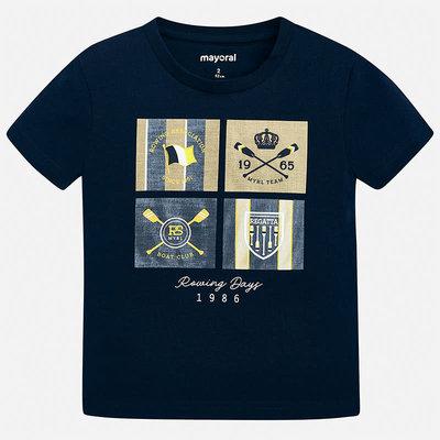 Mayoral Tshirt écusson - marine -