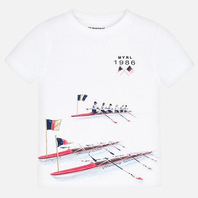 Mayoral Tshirt rowing season - blanc -