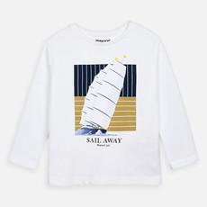 Mayoral Tshirt sail away - blanc -