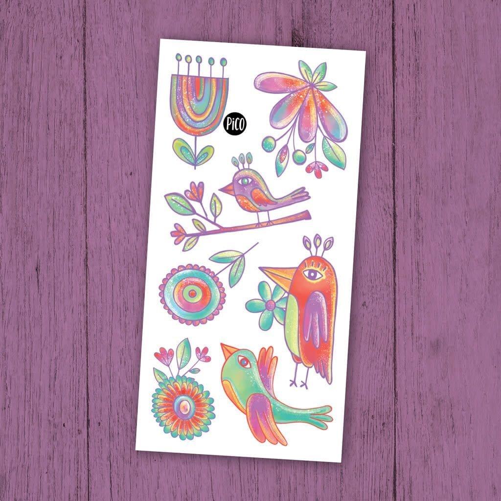 Pico Tattoo Tattoo - Oiseaux