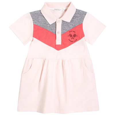 Miles Baby Robe polo - rose -