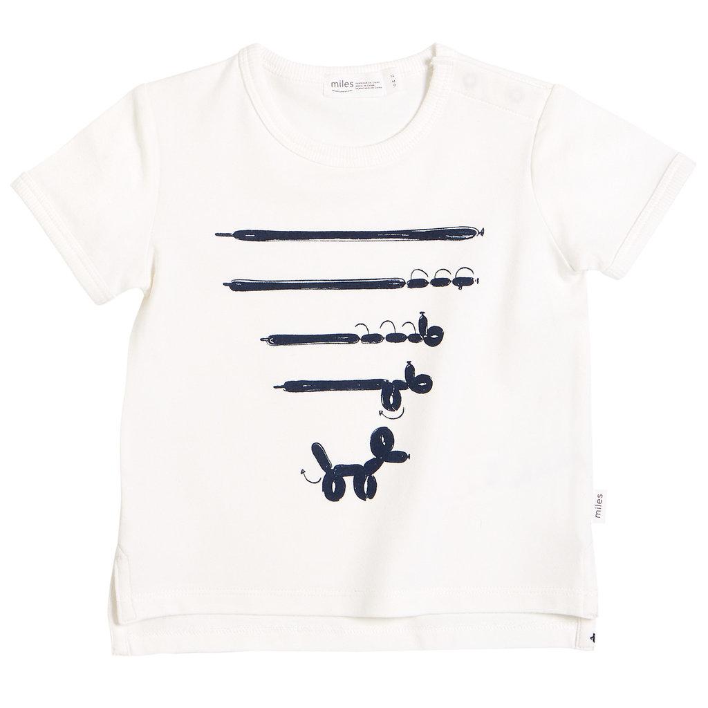 Miles The Label Tshirt - blanc -