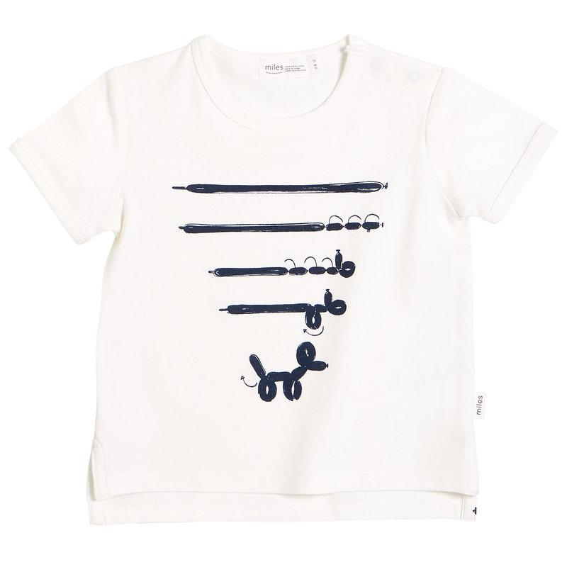 Miles Baby Tshirt - blanc -