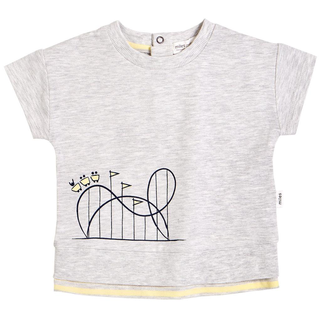 Miles The Label Tshirt - gris -