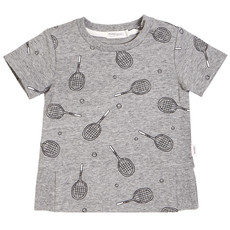 Miles Baby Tshirt - gris -