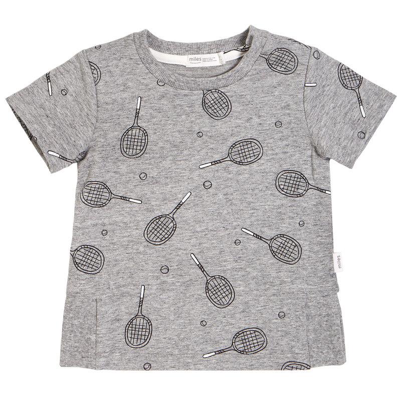 Miles Baby Tshirt - gris -